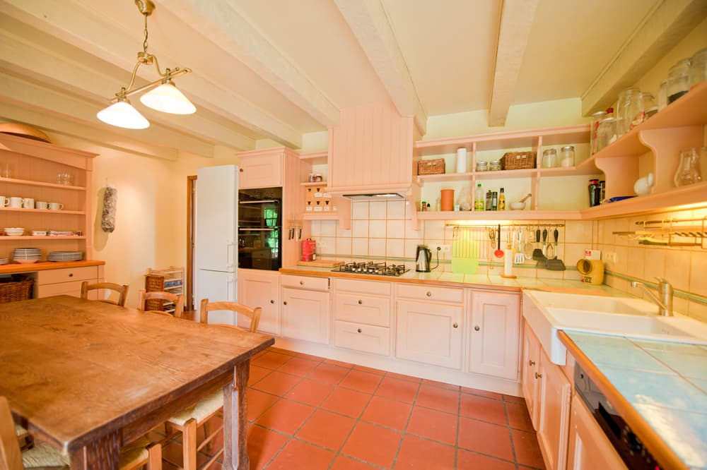 Kitchen in Dordogne holiday accommodation