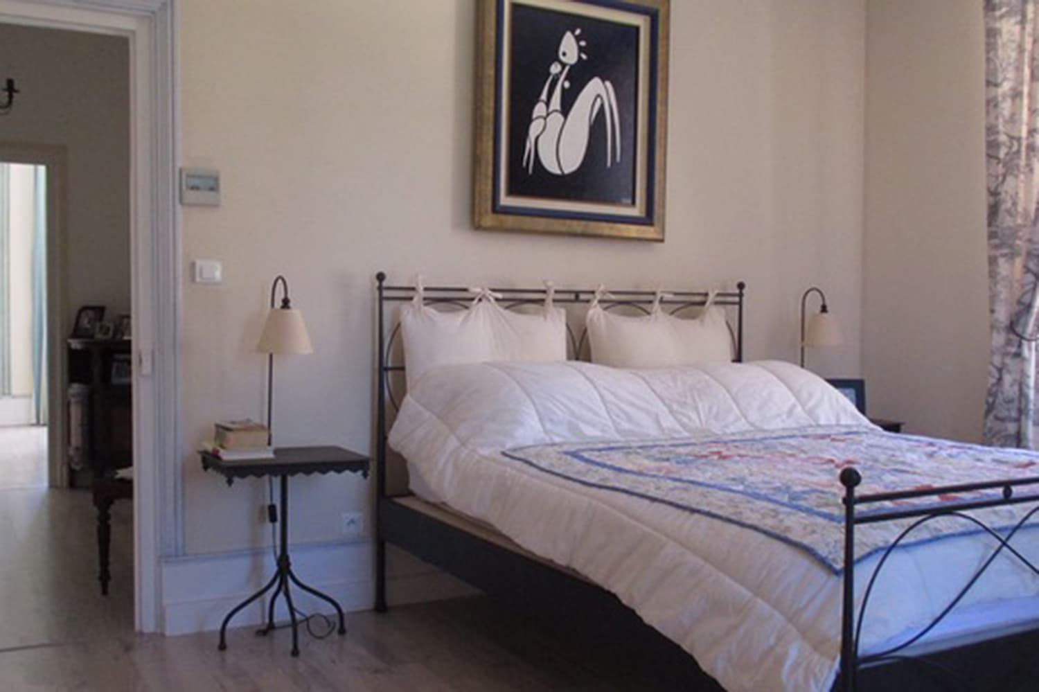 Bedroom in Carsac-Aillac rental home