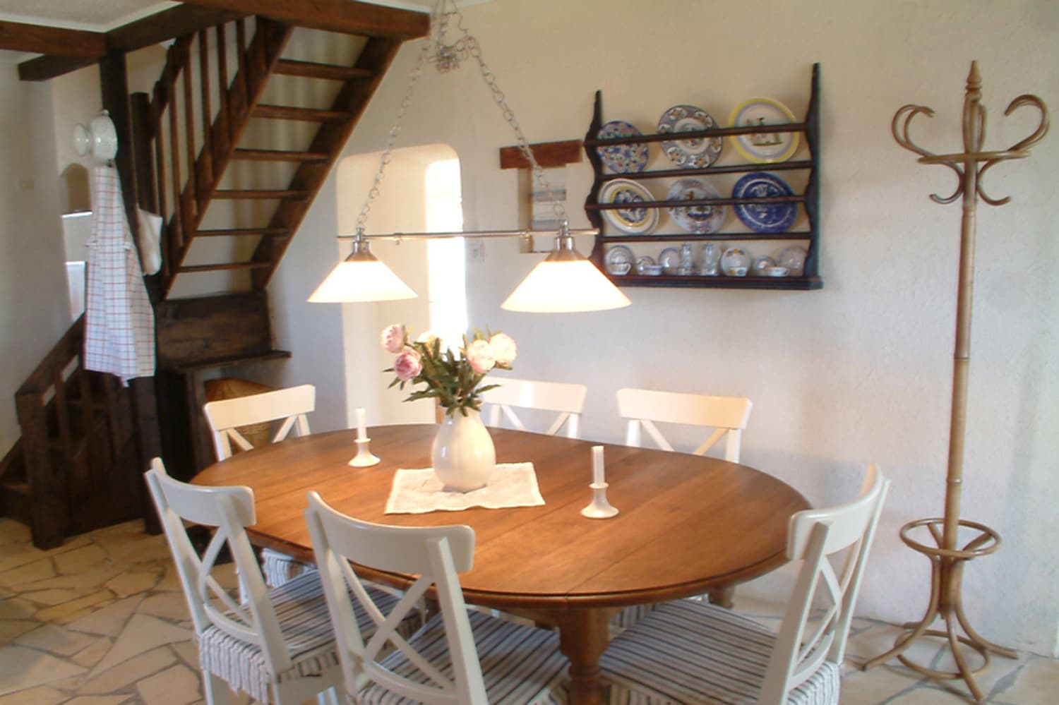 Dining room in Occitanie holiday accommodation