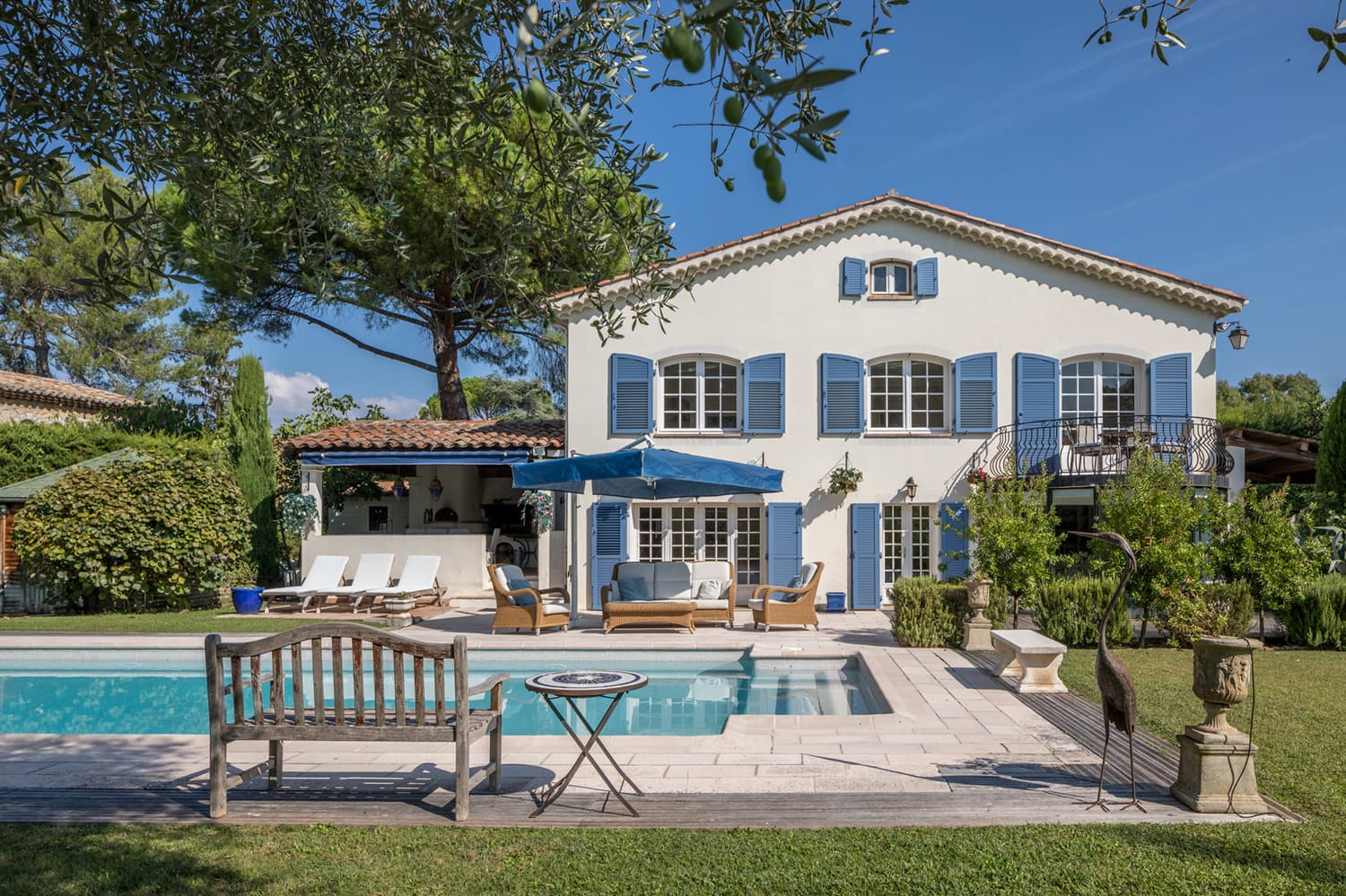 Holiday villa in Provence-Alpes-Côte d'Azur with private, heated pool