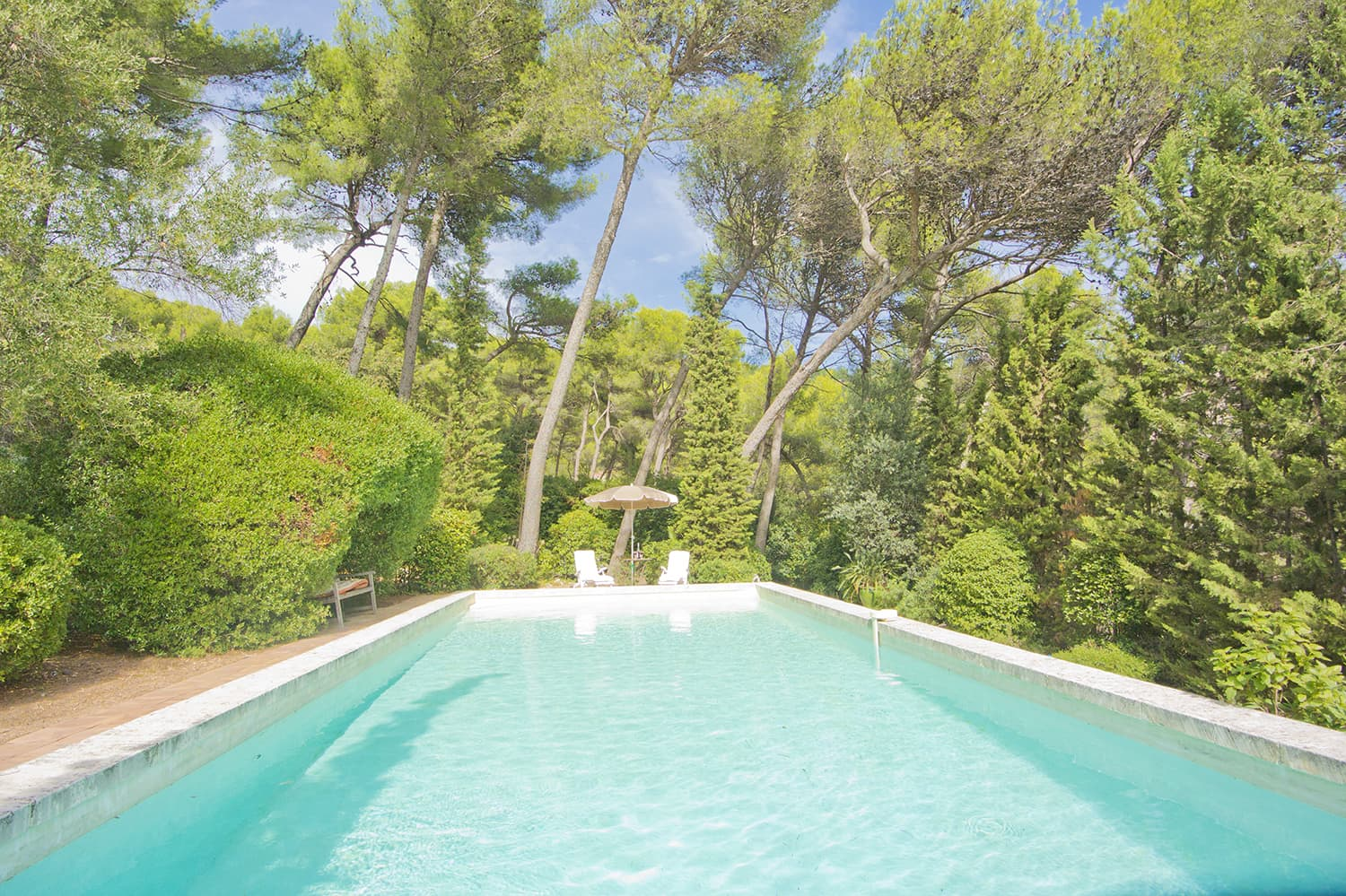 Private pool in Provence Côte d'Azur