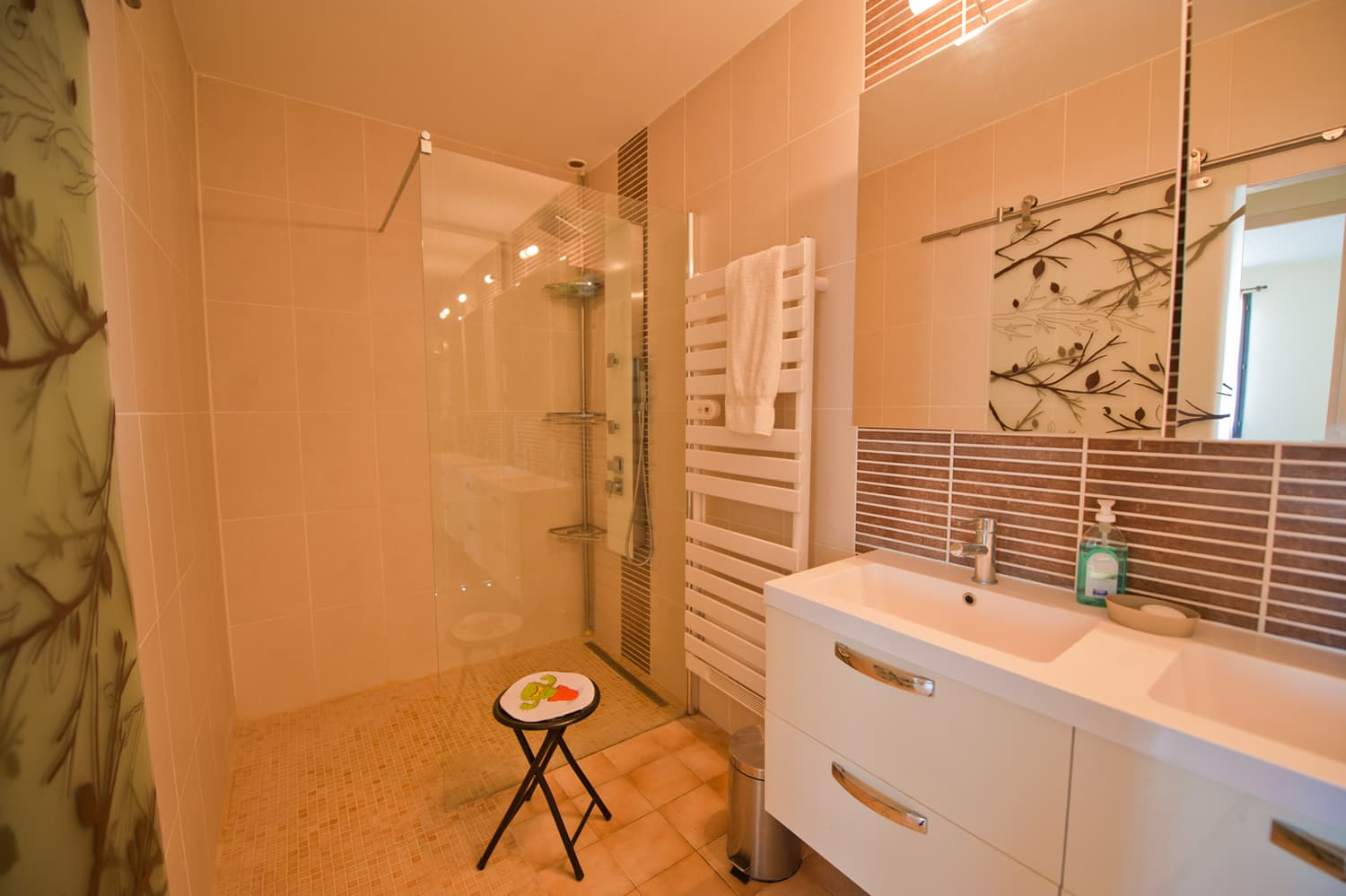 Bathroom in Languedoc holiday villa