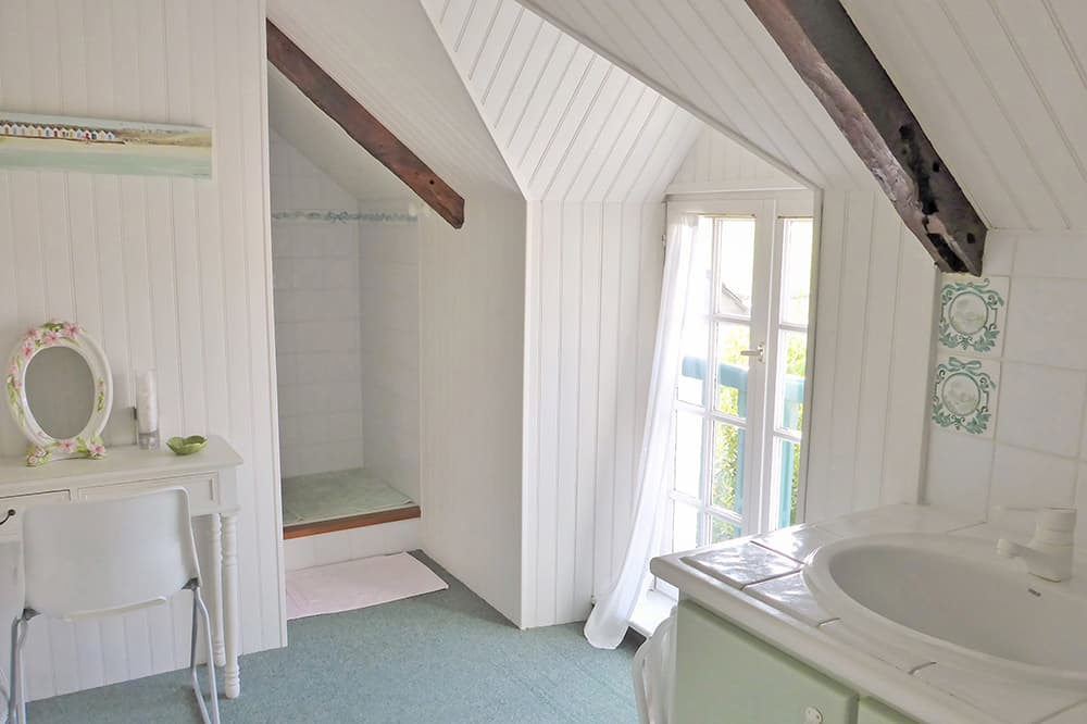 Bathroom in Brittany holiday home