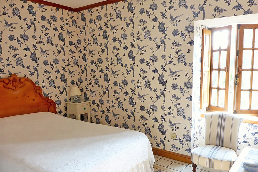 Bedroom in Brittany holiday home