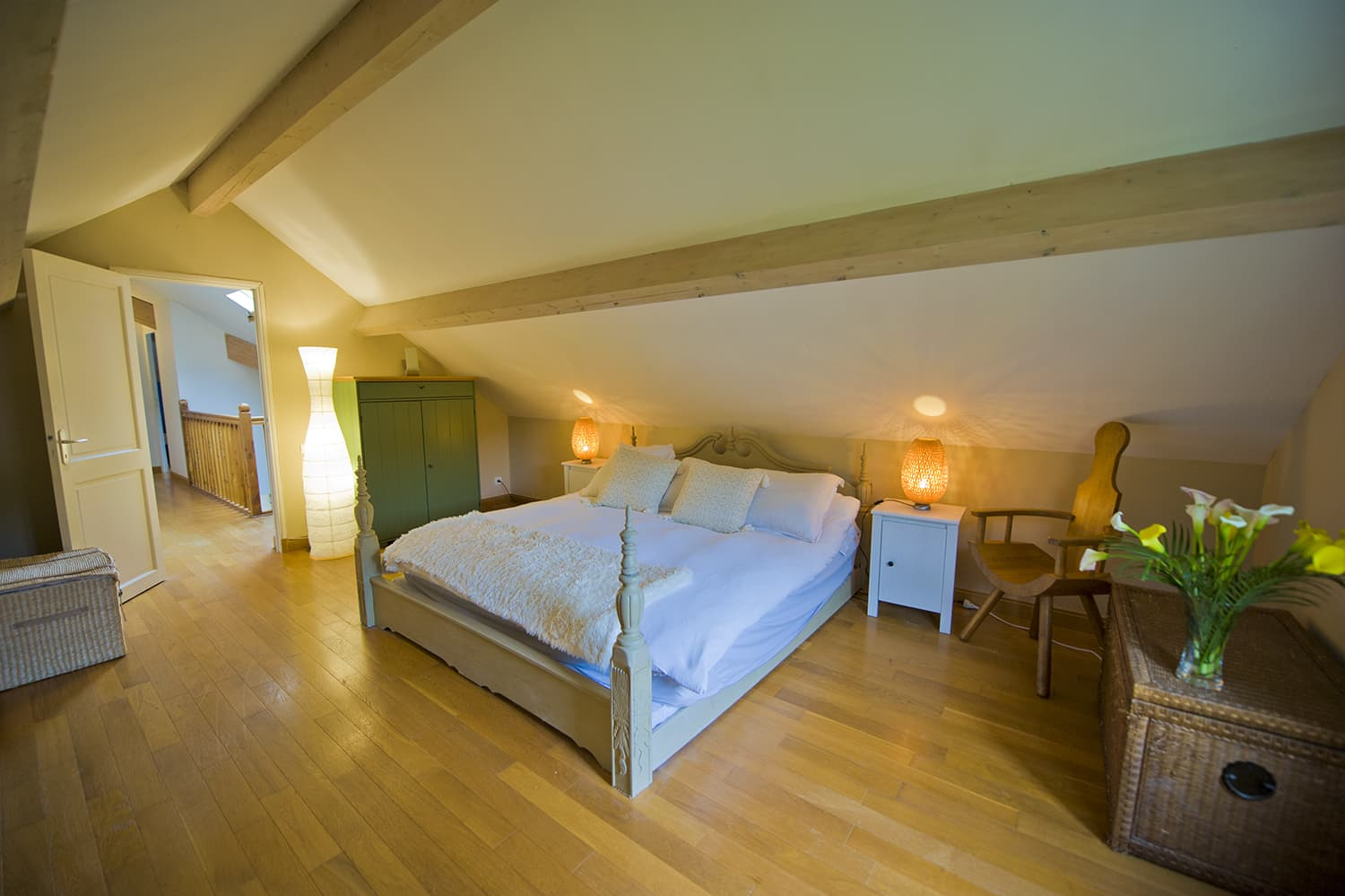 Bedroom in Lot-et-Garonne holiday home