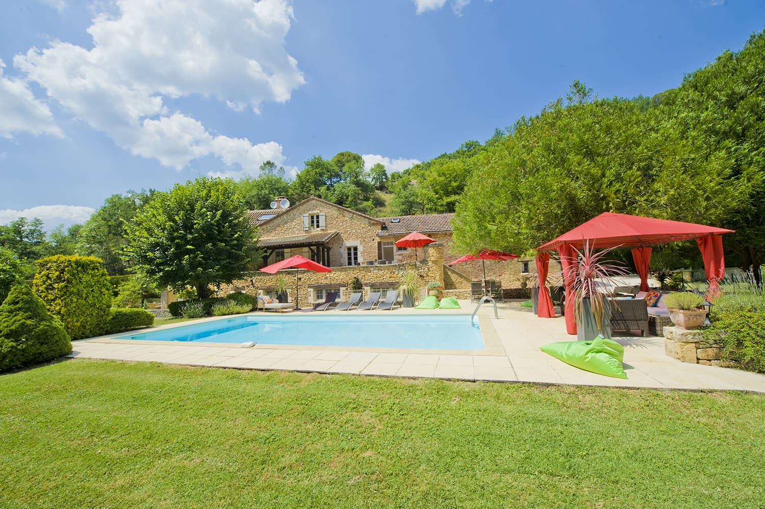 Holiday home in Lot-et-Garonne with private, solar heated pool