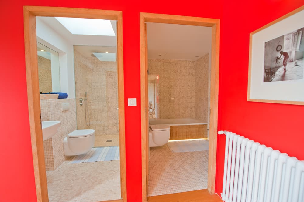 Bathrooms in Dordogne holiday home
