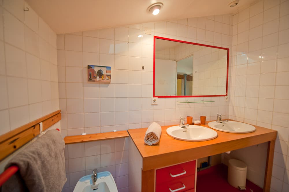 Bathroom in South West France rental home