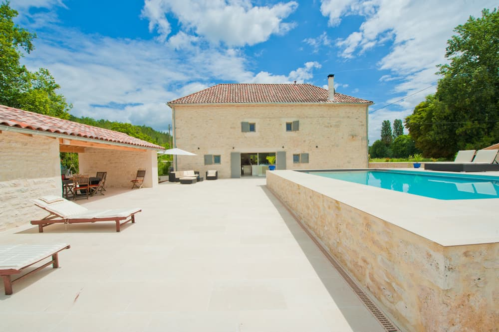 Rental home in South West France with private pool
