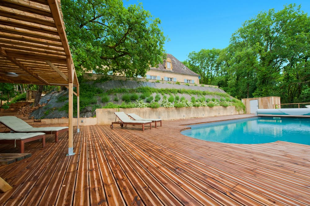 Private, heated pool and terrace