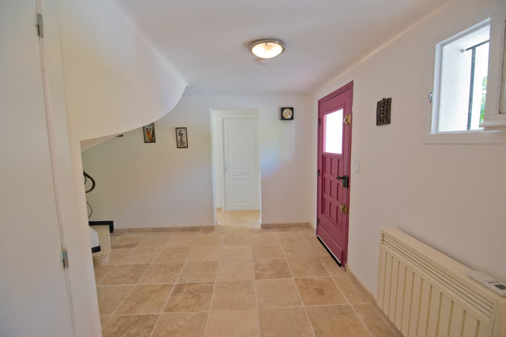 Hallway in Languedoc rental home