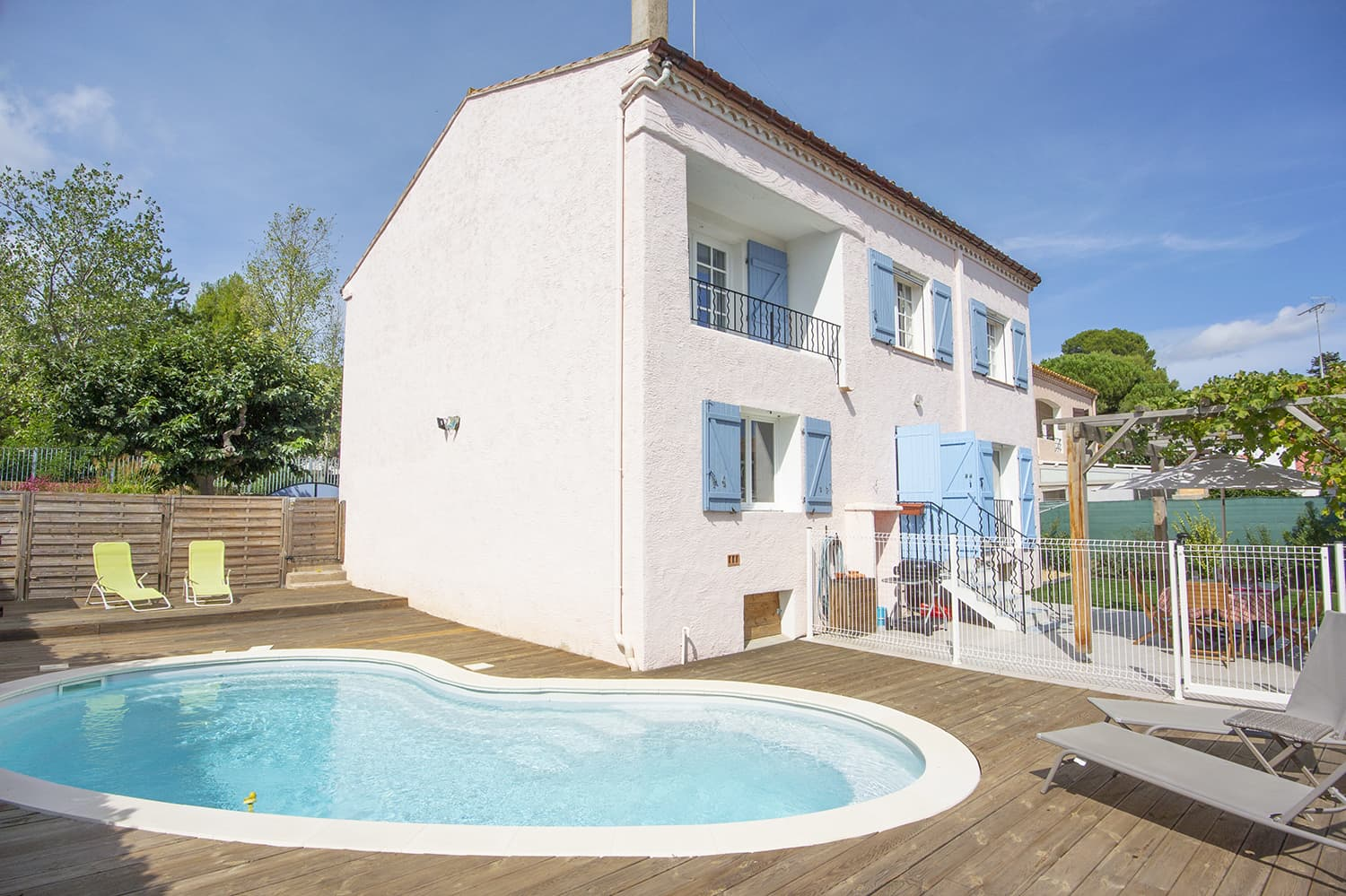 Rental home in Pézenas, Occitanie, with private pool