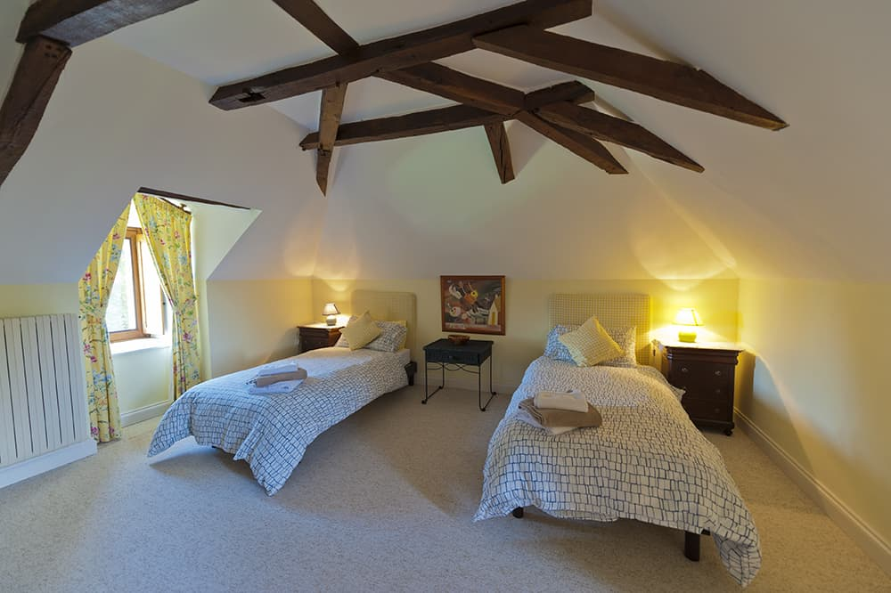 Bedroom in Loire holiday home