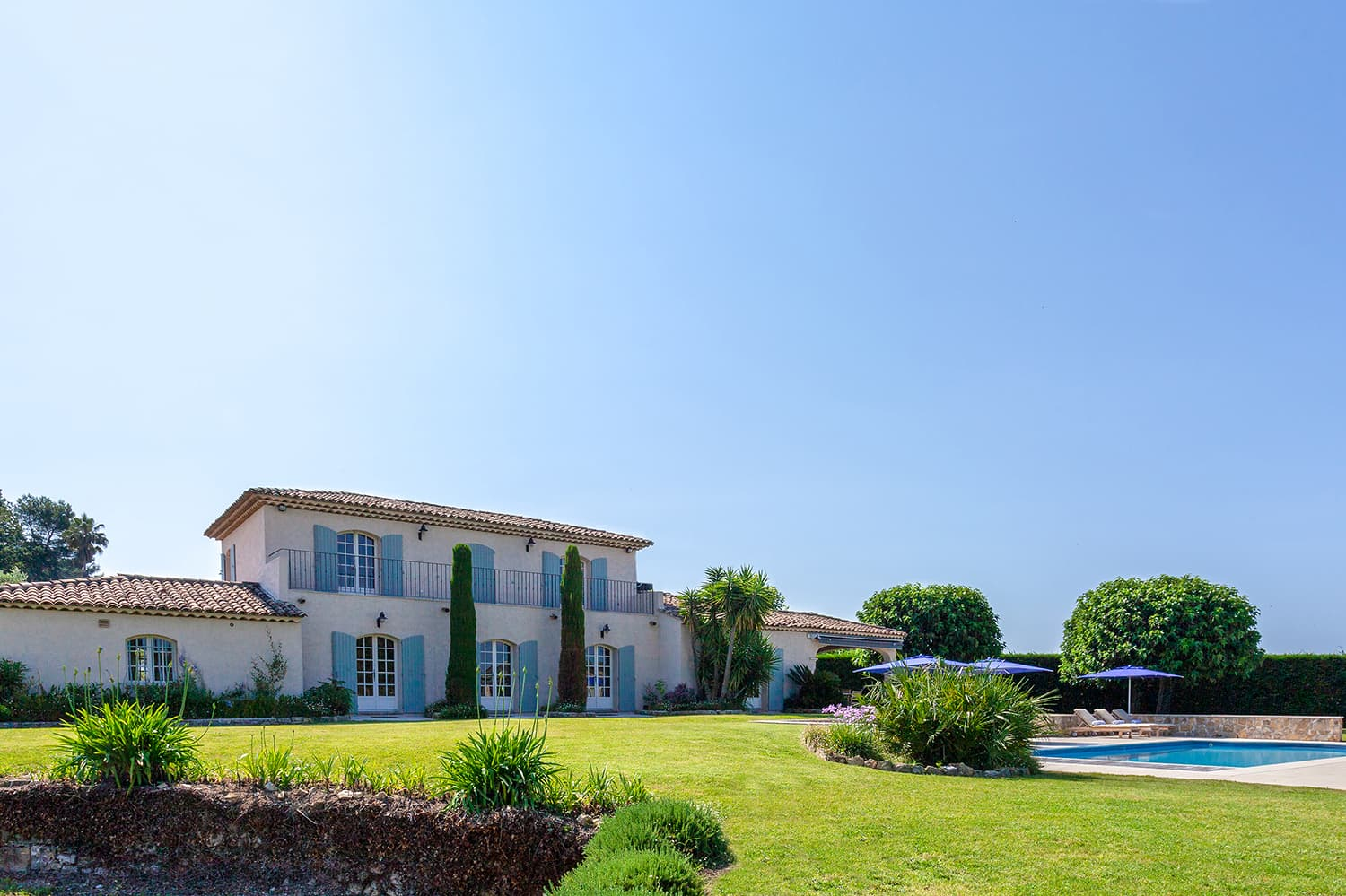 Holiday villa in Mouans-Sartoux, Provence-Alpes-Côte d'Azur, with heated private pool