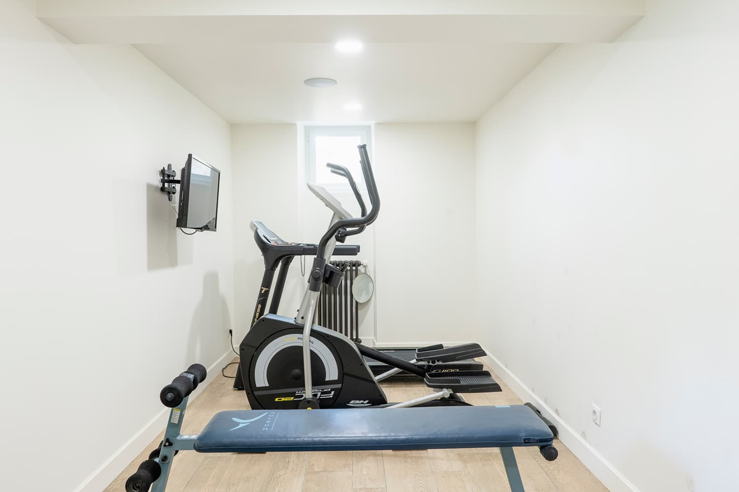 Gym in South West France holiday accommodation