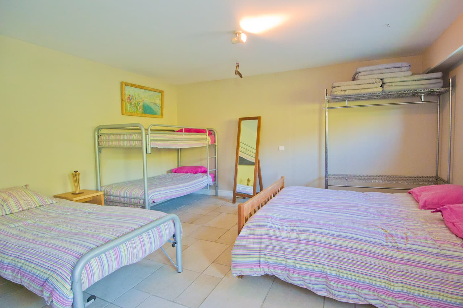 Children's dormitory in Provence villa